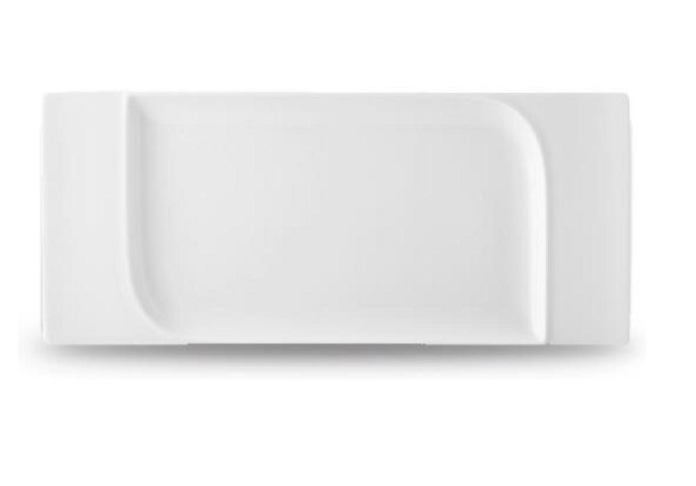 platte 45 cm rechteckig fine dining porzellan sommer. Black Bedroom Furniture Sets. Home Design Ideas